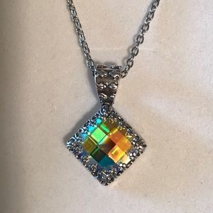 Jewelry - Handcrafted necklace with Swarovski crystal